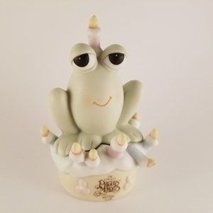 """Hoppy Birthday"" Precious Moments- B0010 Frog"